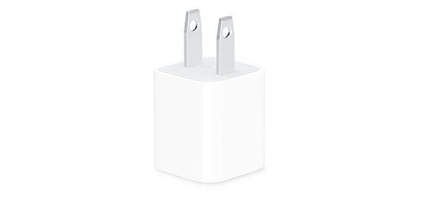 شارژر اپل 5 وات USB مخصوص آیفون و آیپد