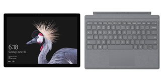 سرفیس پرو 5 / Ci5 / 8GB / 256 SSD + کیبورد نقره ای