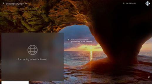 صفحه قفل ویندوز 10 مجهز به باکس جست و جو از طریق کورتانا میشود