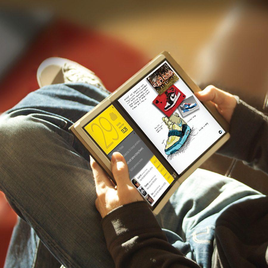 سرفیس تاشو با رقابت با آیپدهای اپل تولید و عرضه خواهند شد
