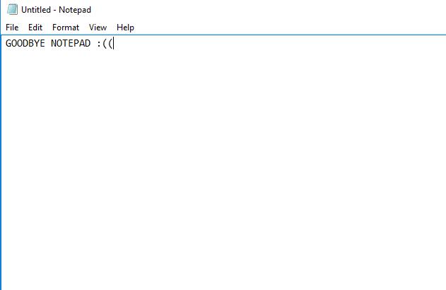 نوت پد در ویندوز 10 احتمالاً از لیست اپلیکیشن های پیشفرض حذف میشود