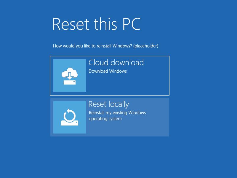 امکان نصب ویندوز 10 از طریق اینترنت فراهم میشود