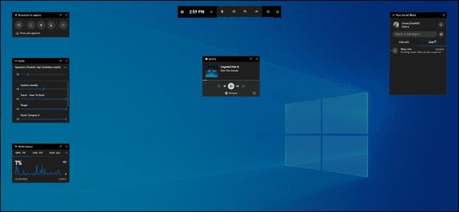 گیم بار ایکس باکس در نسخههای جدید ویندوز 10 امکان نمایش فریم ریت را دارد