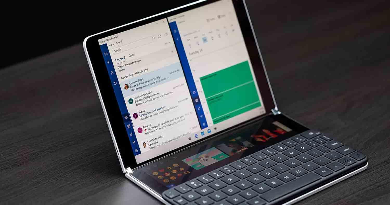 سرفیس نئو | تبلت کارآمد و ویژه مایکروسافت با دو نمایشگر