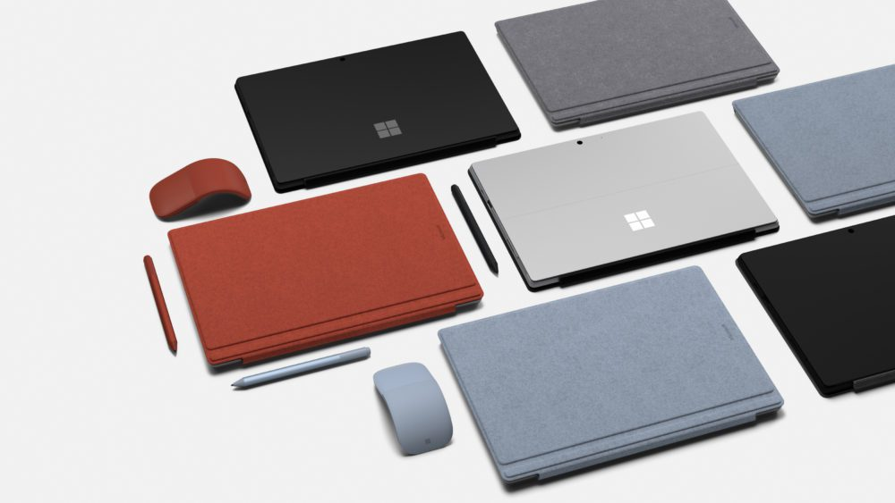 خرید سرفیس پرو 7 - طرح تعویض سرفیس های قدیمی با محصولات جدید مایکروسافت توسط امتداد پارسه