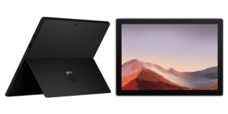 سرفیس پرو 7 مشکی ویندوز هوم Ci5 / 8Gb / 256 SSD