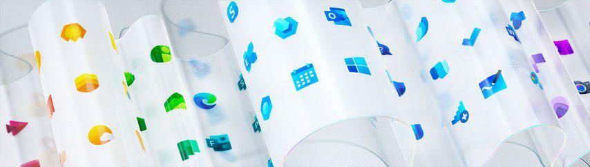 مایکروسافت ظاهر آیکونهای جدید ویندوز را منتشر کرد