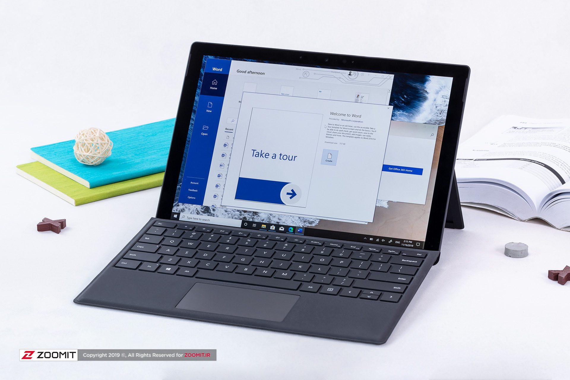 بررسی سرفیس پرو 7 مایکروسافت