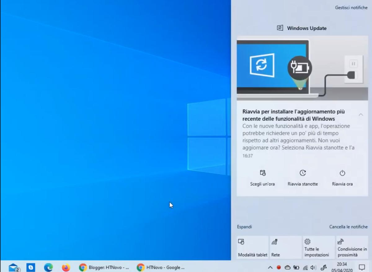 نوتیفیکیشن ها در نسخه ۲۰۰۴ ویندوز ۱۰ بهینه سازی شدند