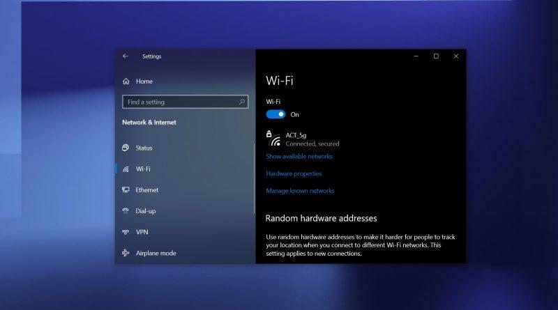 مشکل وای فای ویندوز