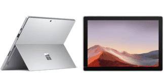 سرفیس پرو 7 پلاس نقره ای ویندوز پرو Ci5 / 8GB/ 128 SSD WIFI بهمراه گارانتی VIP